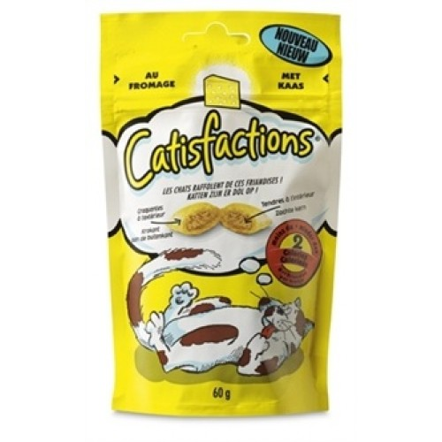 Catisfactions 60gr  Formaggio   pz6