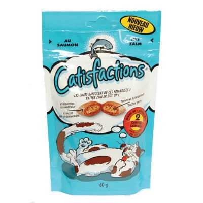 Catisfactions  60gr Salmone Pz6