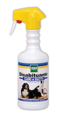 Disabituante Repellente Cani Gatti Uccelli 500ml