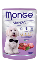 Monge Grill 100Gr Manzo